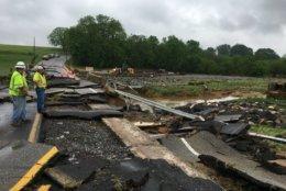 Frederick Maryland flood damage