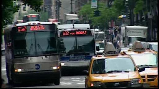NYC buses