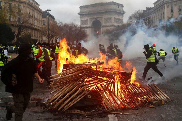 Paris protests