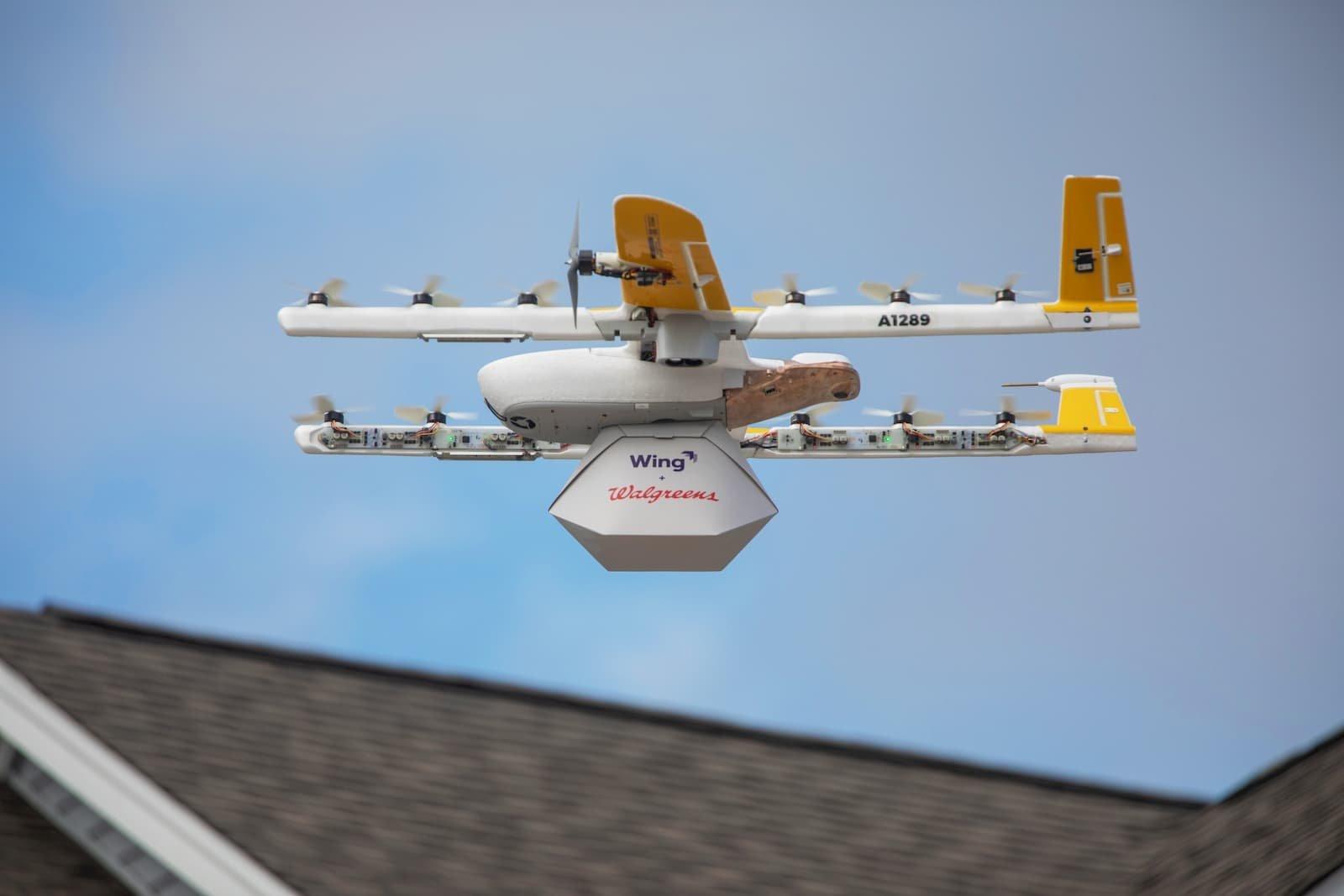 drone run by alphabet