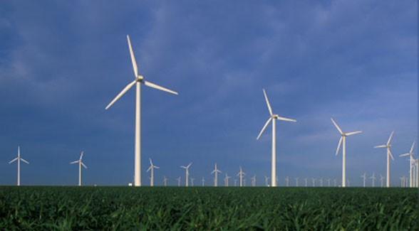 Wind Farm in Nebraska
