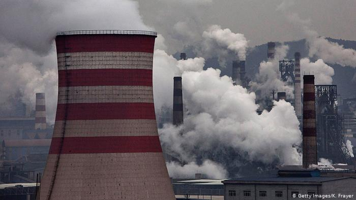 Coal plants in China -- Kevin Frayer Getty Images